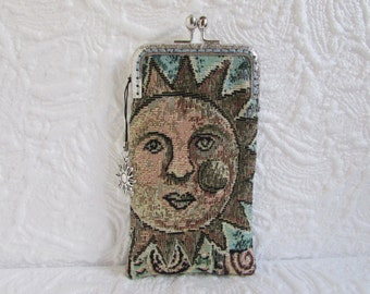 44A - iPhone 6 Case Fabric, iPod Touch Case, Cell Phone Case, Samsung Galaxy Case, cover handmade