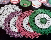 Thread Crochet Doily Pattern, Cotton Lace Table Mat, THE GIFT DOILY Pattern