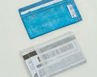 The Veho, Business Card, Minimalist Wallet, Cuben Fiber, Dyneema Wallet, Ultralight gear, front pocket wallet, sail wallet