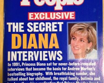 People magazine, Secret Diana Interviews.