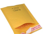 """25 Bubble Mailers #000 - 4""""x 8"""" Kraft Envelope for Mailing, Shipping, and Packing Supplies"""