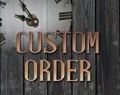 Custom Roman Numerals
