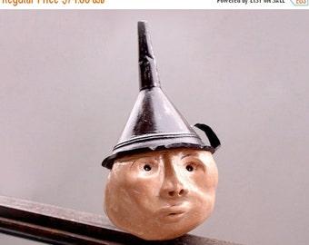 Ceramic Sculpture, Ceramic head, Art sculpture