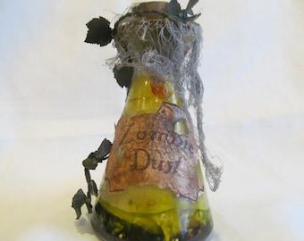 Halloween Potion Bottle/Jar Zombie Dust