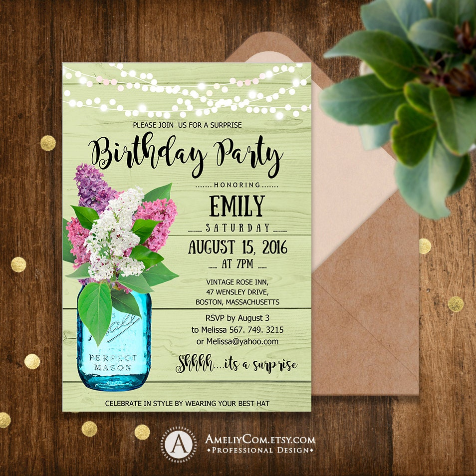 It is a picture of Ridiculous Free Printable Birthday Invitations for Adults
