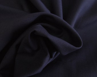 ℳ Deep Dusty Indigo 100% Cotton 58 Inches Wide FC12751