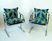Jerry Johnson Chrome Chairs