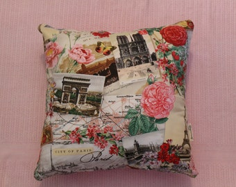 French provincial cushion cover 45cm X 45cm