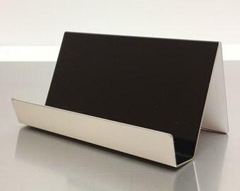 Black Aluminum Cardholder
