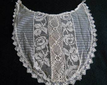 Antique Lace Inset for blouse or lingerie