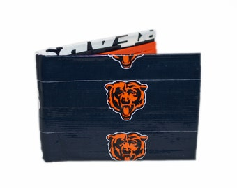 Chicago Bears Duct Tape Wallet