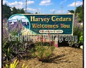 LBI: Welcome to Harvey Cedars Tile Coaster