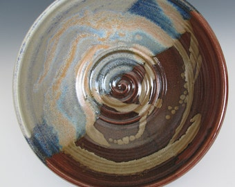 Large Reduction Fired Bowl
