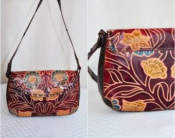 Vintage INDIA Genuine Leather Bag
