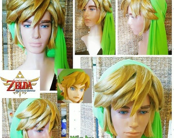 Link wig from Legend of Zelda