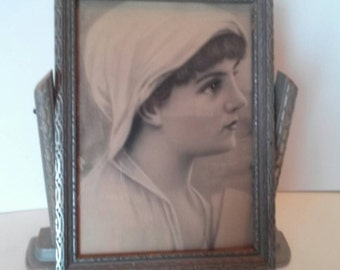 Vintage Cheval Picture Frame