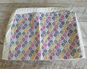 Sewing Machine Cover - Quilted - Geometric Print - Native American