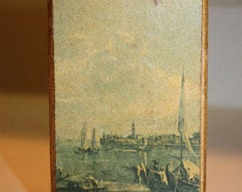 Vinatge Match Box From Venezia