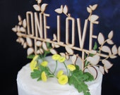 Custom Rustic Garden Pie-topper or Cake Topper for Wedding Dessert Table
