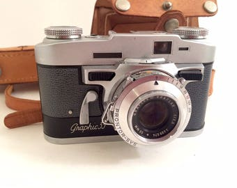 Graflex Graphic 35 Rangefinder 35mm Film Camera