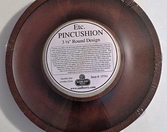 Sudberry House Etc. Pincushion, Round Pin Cushion, Cross Stitch, Needlepoint