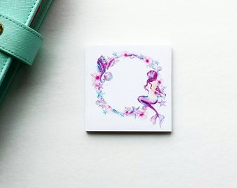 Tails of the Ocean mermaid sticky notes