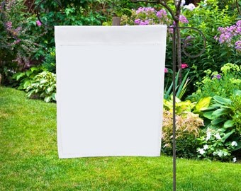 Blank Nylon Garden Flags