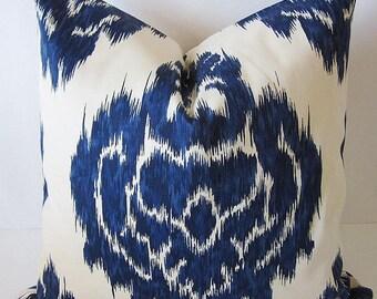 Ikat Pillow Cover, Duralee Kalah Pillows, Moroccan Pillow Cover, Indian Pillows, Kilim Pillow Cover, Boho Pillows, Tribal Decorative Pillows