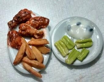 Miniature hot wings
