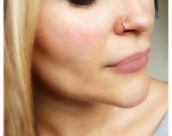 20 Gauge Nose Ring Etsy