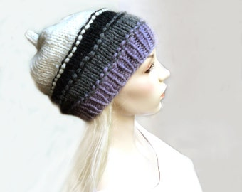 Knitted Hat Beanie Wool