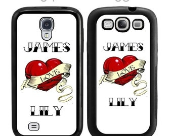 Customized LOVE Tattoo Samsung Galaxy Case