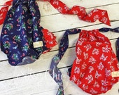 Fabric Flaw 6-12M Red 4th of July Bubble...by The Sassy Chic Boutique