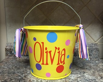 5 QT Personalized Bucket