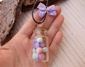 macarons, necklace