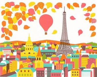 Paris, Original Screenprint, Limited edition of 24