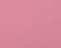 Pink Linen Upholstery Fabric - Solid Color Heavyweight Linen for Furniture - Light Pink Linen Pillow Headboard Curtain Fabric by the Yard