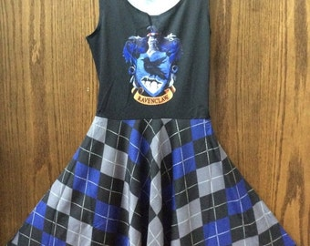 SALE Hogwarts Argyle Skater Dress
