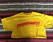 Hulkamania Crop Top T-Shirt