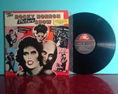 The ROCKY HORROR Picture Show Original Motion Picture Soundtrack Ost Movie Vinyl Record LP 1975 Musical Drag Near Mint - Condition Vintage