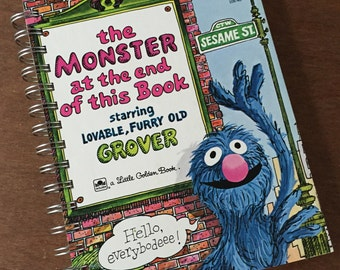 2017-18 Academic Calendar Planner The Monster at the End of this Book  Little Golden Book OR Other LGB
