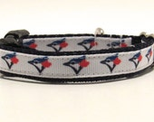 Blue Jays Dog Collar, Blue Jays Cat Collar, Toronto Blue Jays dog collar