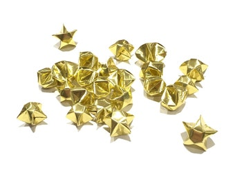 100 GOLD ORIGAMI STARS
