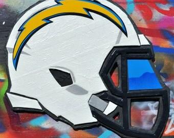 San Diego Chargers Helmet Sculpture