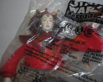 Vintage Unused Unopened Queen Amidala Character Cup Topper Star Wars Cup Topper Unused Star Wars Cup Topper Episode I The Phanton Menace