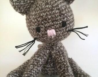 Crochet Kitty Plush Toy