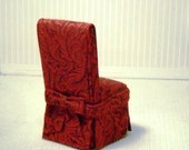 OOAK Dining chairs for the 1:12 scale dollhouse