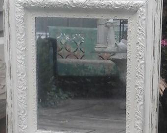 vintage shabby chic mirror