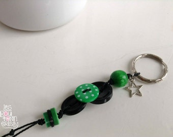 Keychains - green free shipping