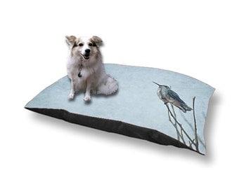 Pet Bed Dog Bed Resting Hummingbird 18x28 30x40